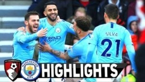 AFC Bournemouth vs Manchester City 0 – 1 | EPL All Goals & Highlights | 02-03-2019
